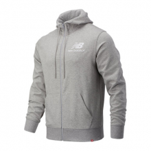 New Balance 03558 Men's NB Essentials Stacked Full Zip Hoodie