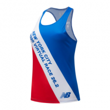 03298 Women's Virtual TCS New York City Marathon Printed Singlet by New Balance
