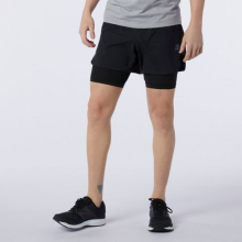 11279 Men's Q Speed Fuel 2 in 1 5 Inch Short by New Balance in Highland Park IL