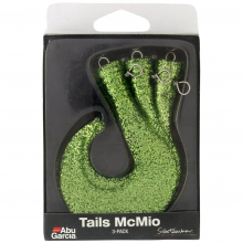 Svartzonker McMio Spare Tails | Model #MCMIO SPARE TAILS PAPEGOJ GREEN SVZ by Abu Garcia