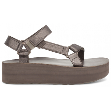 Women's Flatform Universal Leather by Teva in Squamish BC