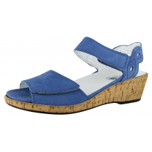 Mira Cork Wedge Sandal by Waldlaufer