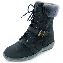 Inder Wool Lace/Zip Boot by Waldlaufer