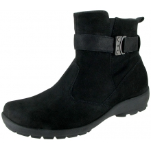 Dove Zip Boot Nubuck by Waldlaufer