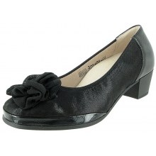 Cindy Bow Pump Lizz by Waldlaufer