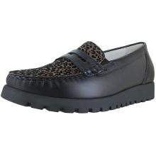 Eliza Hegli Black/Brown Leopard