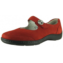 Women's Julie Henni Red Nubuck by Waldlaufer