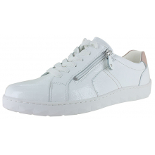Women's Maria Herne White Patent With Rose