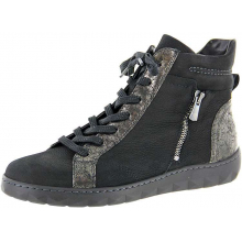Women's Meghanherne Black Multi Nubuck