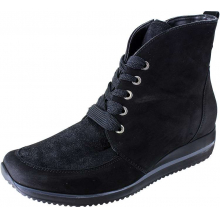 Women's Mercy Himona Black Nubuck Stretch