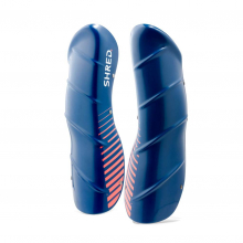 Shin Guards Navy Blue/Rust by Shred