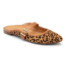 CRYSTAL ESME LEOPARD MULE FLAT by Vionic Brand in St Joseph MO