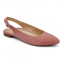 CRYSTAL JADE SUEDE SLINGBACK FLAT by Vionic Brand in St Joseph MO