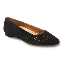 GEM CARMELA PERF SUEDE BALLET FLAT by Vionic Brand in St Joseph MO