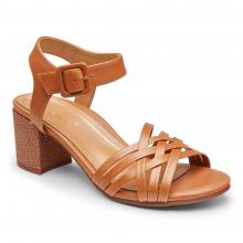 Women's Papaya Peony Natural 3/4 Strap Heel by Vionic Brand