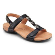 REST FARRAII WOVEN BACKSTRAP SANDAL by Vionic Brand in College Station TX