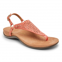 REST KIRRA PERF SUEDE T-STRAP SANDAL by Vionic Brand