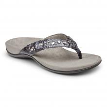Women's Rest Lucia Snake Toe Post Sandal by Vionic Brand in Fort Morgan CO