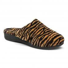 Women's Indulge Gemma Tiger Mule Slipper by Vionic Brand