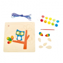 Hoot Owl Paint and Frame by Hape