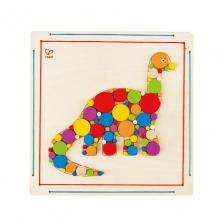 Brontosaurus Mosaic by Hape