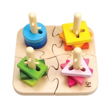 Creative Peg Puzzle by Hape