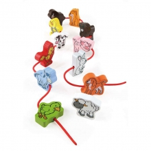 Lacing Farm Livestock by Hape