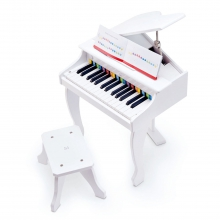 Deluxe Grand Piano (White) by Hape