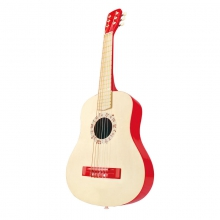 Vibrant Red Guitar by Hape