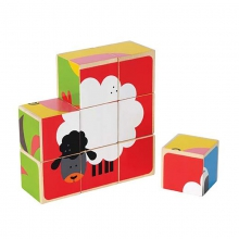 Farm Animals Block Puzzle by Hape