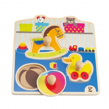 My Toys Knob Puzzle by Hape