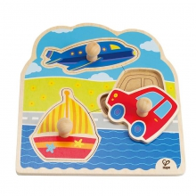On-The-Go Knob Puzzle by Hape