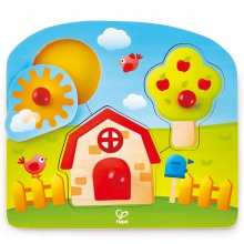 Country Peg Puzzle by Hape