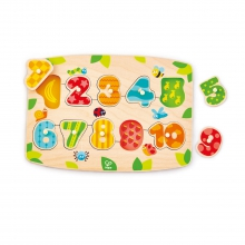 Number Peg Puzzle by Hape
