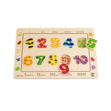 Numbers Matching Puzzle by Hape