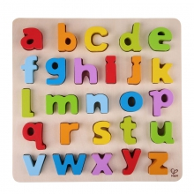 Lowercase Alphabet puzzle by Hape