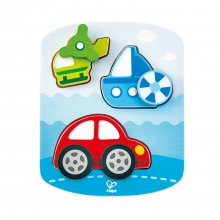 Dynamic Vehicle Puzzle by Hape