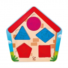 Who's In The House Puzzle by Hape