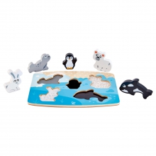 Polar Animal Tactile Puzzle by Hape