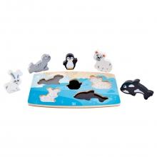 Polar Animal Tactile Puzzle