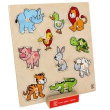 Friendly Animals Puzzle by Hape