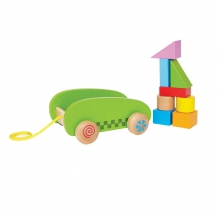 Mini Block & Roll by Hape