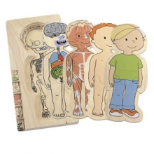Layer Puzzle Your Body boy by Hape