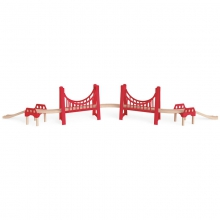 Extended Double Suspension Bridge by Hape