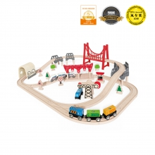 Double Loop Railway Set by Hape