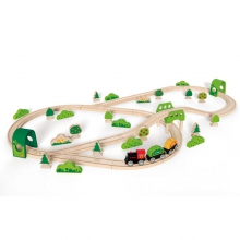 Forest Railway Set by Hape