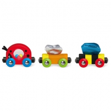 Lucky Ladybug and Friends Train by Hape