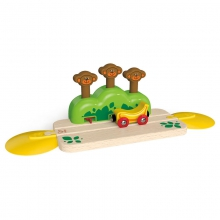 Monkey Pop-Up Track by Hape