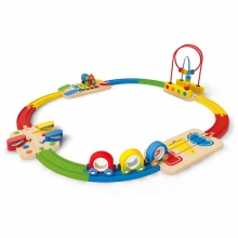 Musical Melody Railway Set by Hape in Brookline Ma