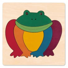 Rainbow Frog by Hape